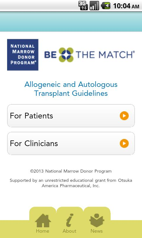 Transplant Guidelines - screenshot