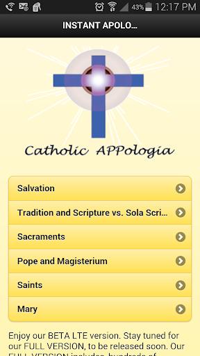 Catholic APPologia