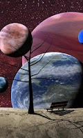 Screenshot of Planets Live WallPaper Free