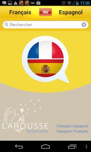 Dictionnaire espagnol-français - screenshot thumbnail