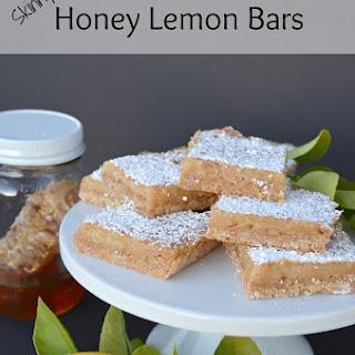 Skinny Honey Lemon Bars
