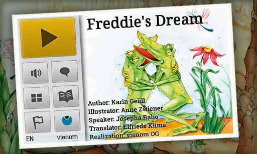 Freddie's Dream Kids Book