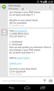 PNR Status: On&Offline Alerts - screenshot thumbnail