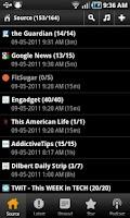 Screenshot of Feed+ News & Podcast Reader