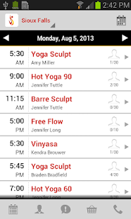 Santosha Hot Yoga - screenshot thumbnail