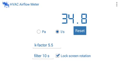 HVAC Airflow Meter