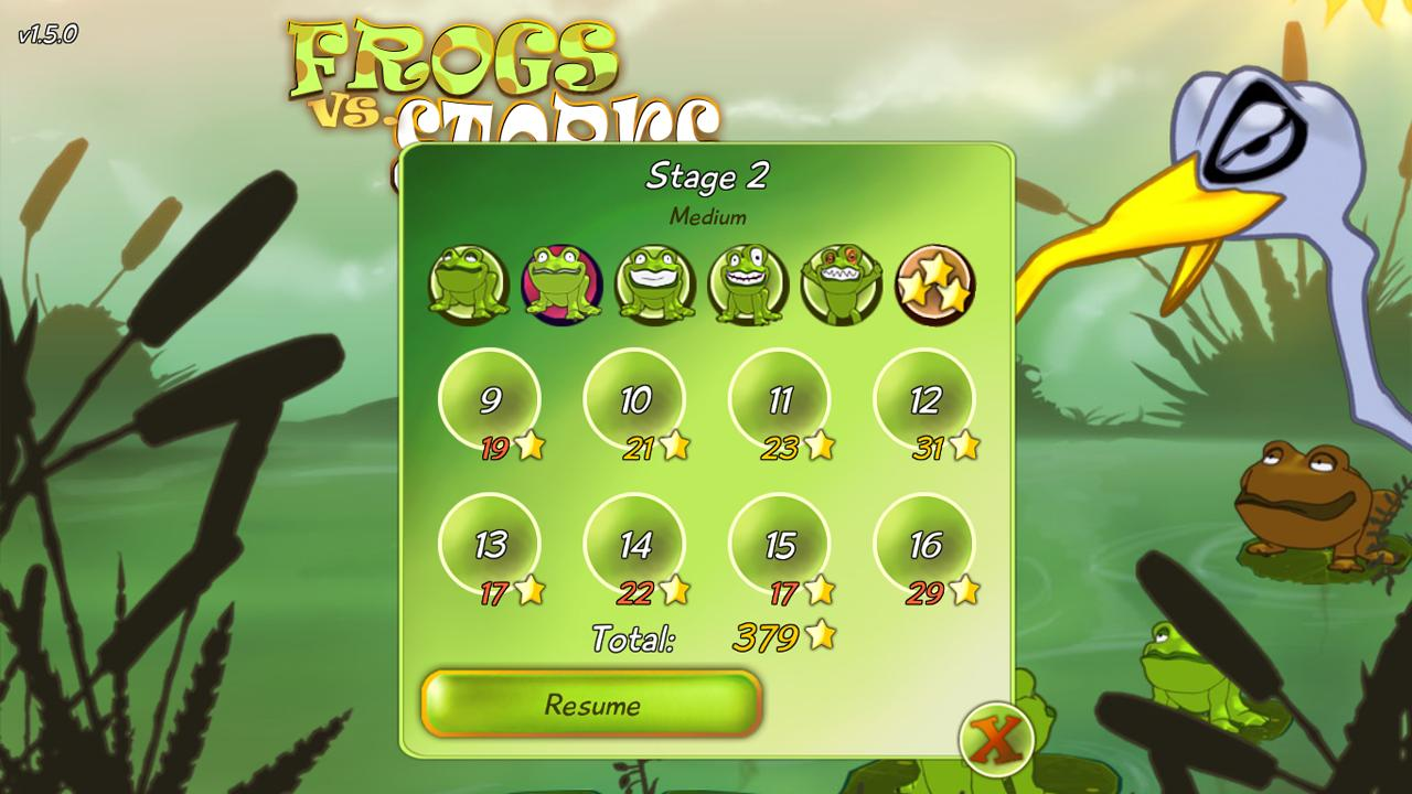 FROGS vs. STORKS FREE - screenshot