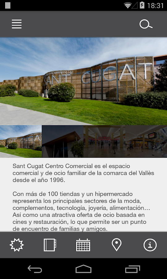 Sant Cugat Centre Comercial- screenshot