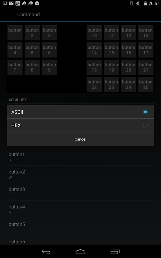 BlueTooth Serial Controller- screenshot