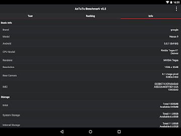 AnTuTu Benchmark Screenshot 4