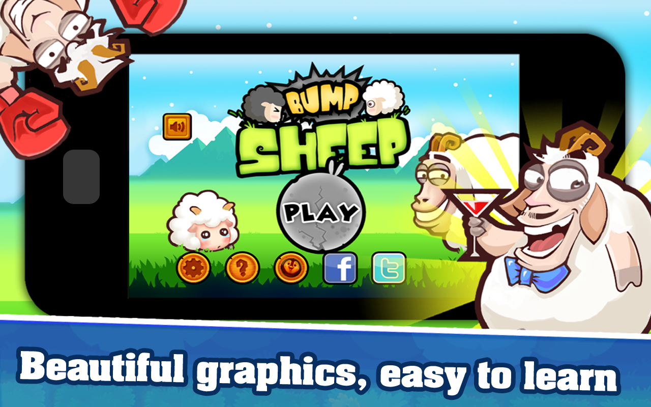 Bump Sheep- screenshot