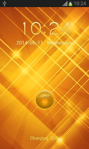 ゴールドロック画面|玩個人化App免費|玩APPs