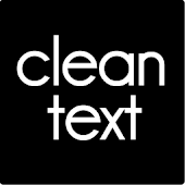 Clean Txt Theme GO Launcher EX