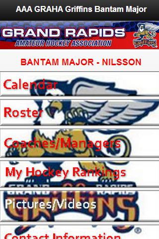 GRAHA Griffins Bantam Major