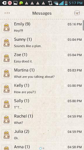 【免費個人化App】Mole game go sms theme-APP點子