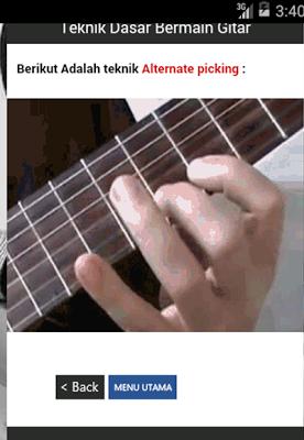 Fingerstyle guitar Interactive - screenshot