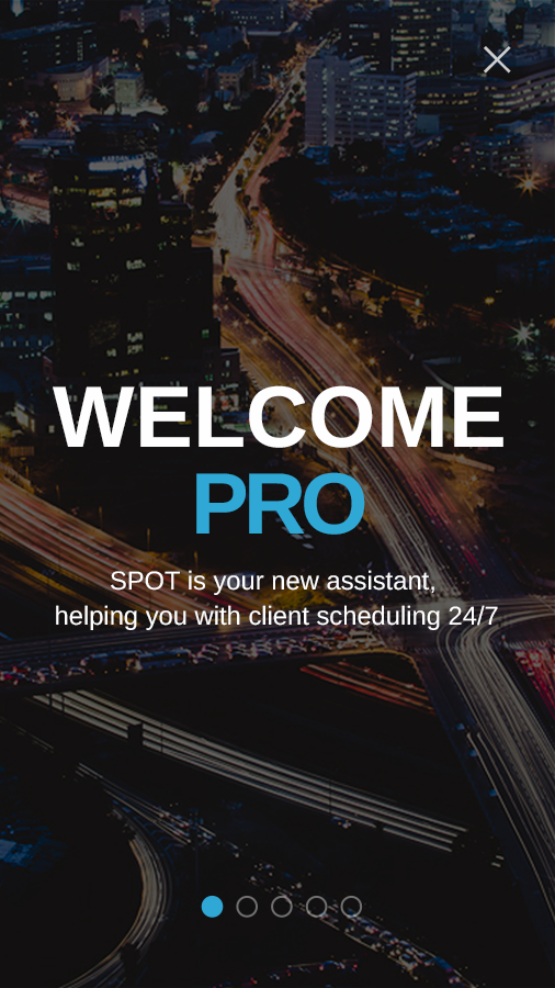 SPOT PRO: Business scheduling- screenshot
