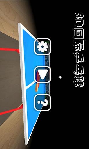 3D国际乒乓球
