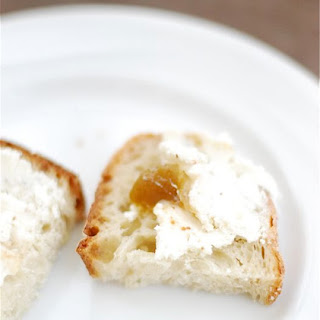 Rosemary Fig Goat Cheese Spread.