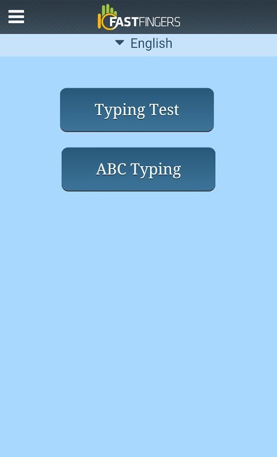 10FastFingers Typing App - screenshot