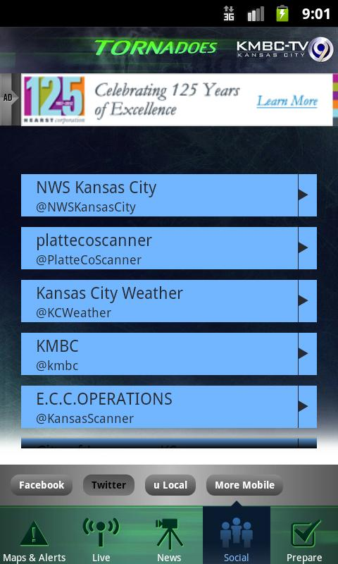 Tornadoes KMBC 9 - Kansas City- screenshot