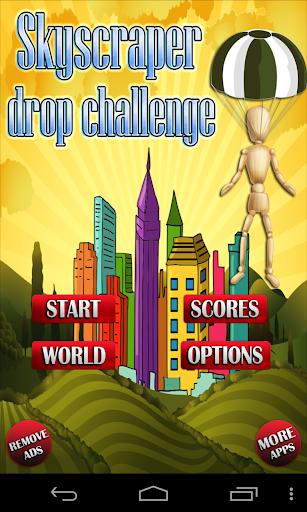 Skyscraper Drop Challenge