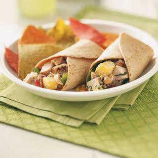 Grilled Chicken Salad Wraps.