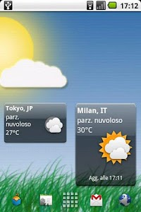 Meteo Widget Pro screenshot 0