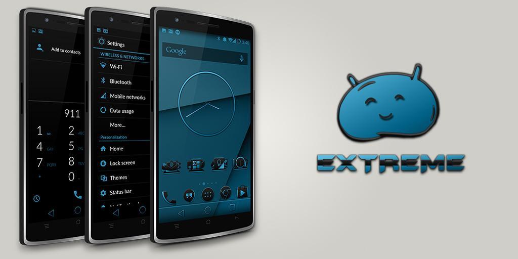 JB Extreme Theme CM11 AOKP - screenshot