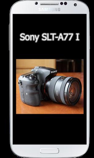 SLT-A77 II Tutorial