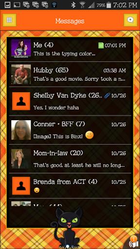 GO SMS THEME - SCS312
