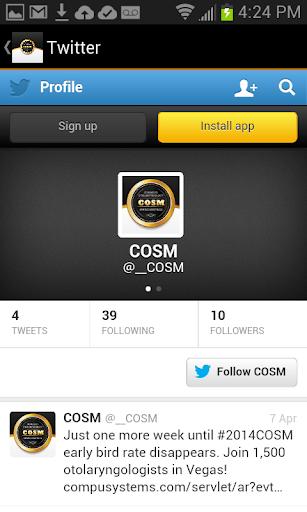 【免費商業App】COSM 2014-APP點子