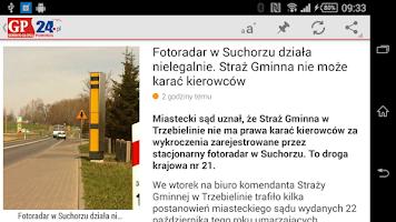 Screenshot of Głos Pomorza