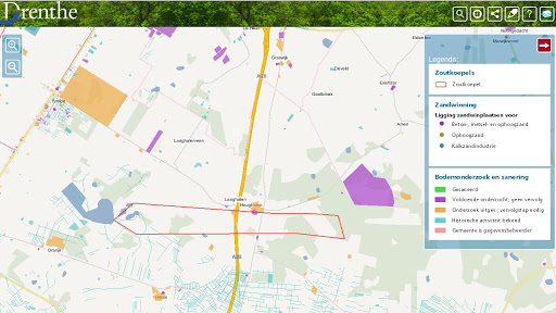 Geoapp Drenthe