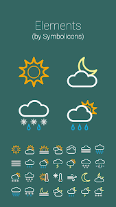 COLOR WEATHER ICONS FOR HDW screenshot 4