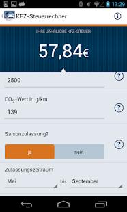 Kfz-Steuer- screenshot thumbnail