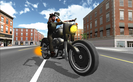 运动摩托车赛车