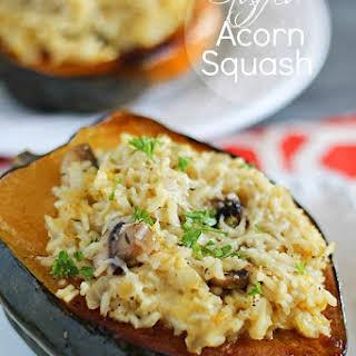 Stuffed Acorn Squash.