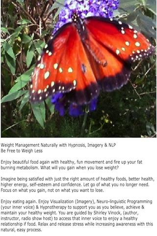 Weigh Less Naturally Hypnosis- screenshot