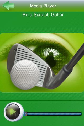 Hypno Golf - Be a Scratch Golf - screenshot