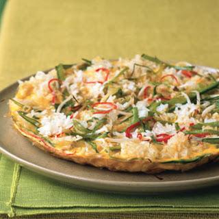 Crispy Rice Omelette.