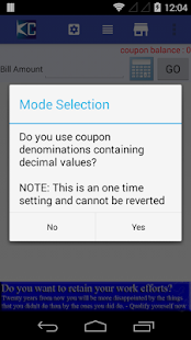 Coupon Calculator- screenshot thumbnail