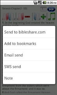 King James Bible- screenshot thumbnail