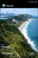 Screenshot of Visit Santa Catarina