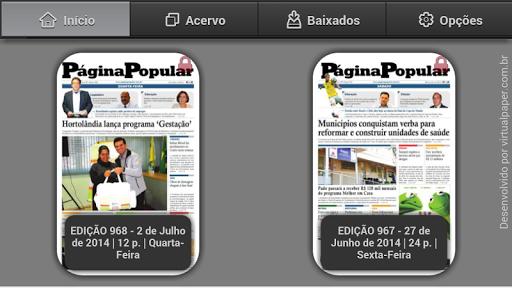 Jornal Página Popular