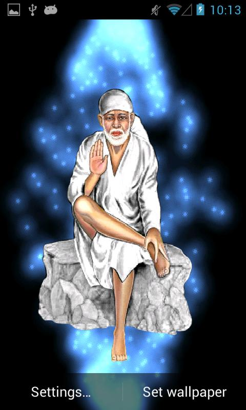 Sai Baba Live Wallpaper - screenshot