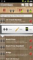 Screenshot of LiftPro 3 Fitness Tracker