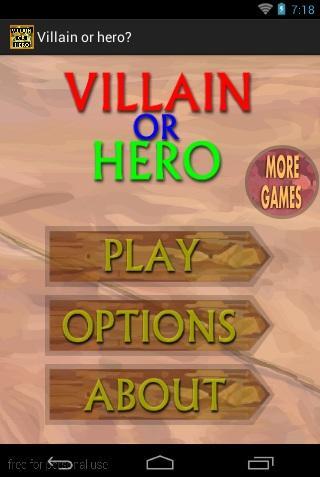 Villain or hero
