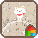 baby bear planet dodol theme icon