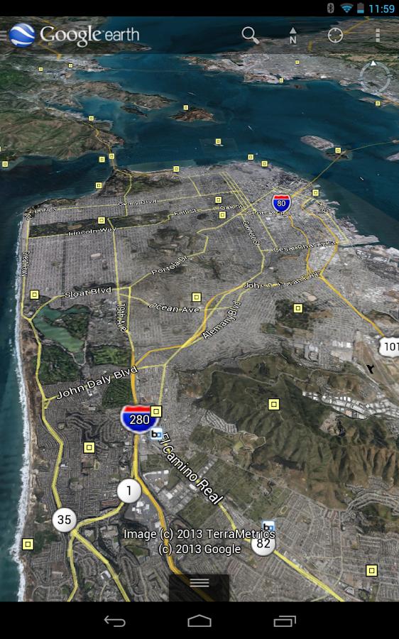 Google Earth para Android agora conta com nova tecnologia 3D 2